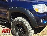 06 tacoma fender flares - RDJ Trucks PRO-OFFROAD Bolt-On Style Fender Flares - Toyota Tacoma 2005-2011 5' Short Bed - Set of 4 - Aggressive Textured Black