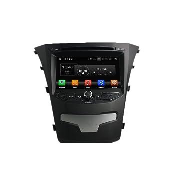 Android 8.0 Octa Core Autoradio Radio DVD GPS navegación Reproductor multimedia estéreo de coche para Ssangyong