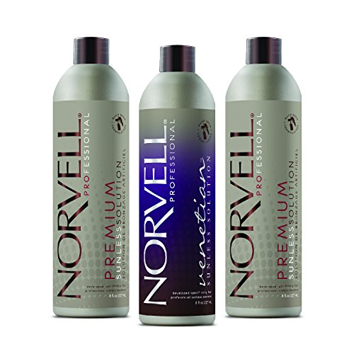 Norvell Sunless Kit - M1000 Mobile HVLP Spray Tan Airbrush Machine + 8 oz Tanning Solutions in Clear Plus, Venetian and Dark + Norvell Training Program (Retail Value $490) by Norvell (Image #3)