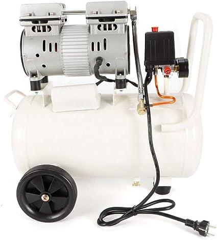 YIYIBY compresor Silencioso 30L Compresor de aire comprimido sin aceite motor (750 W, 30 L, sin aceite): Amazon.es: Bricolaje y herramientas
