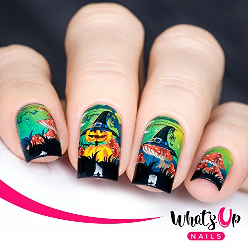 Whats Up Nails - P043 It's All an Illusion Water Decals Sliders for Halloween Nail Art Design ()