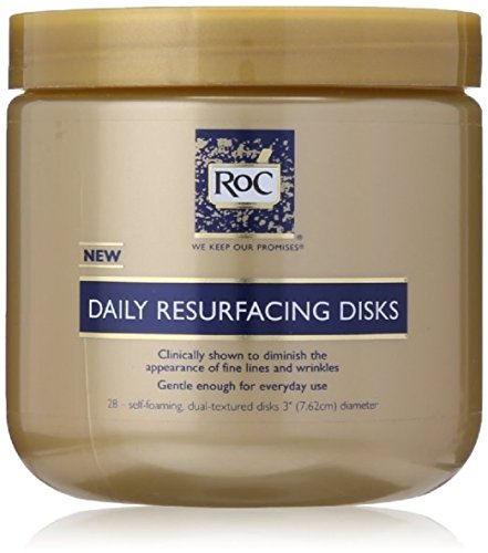 RoC Daily Resurfacing Disks 28 Each (Pack of 12) by RoC