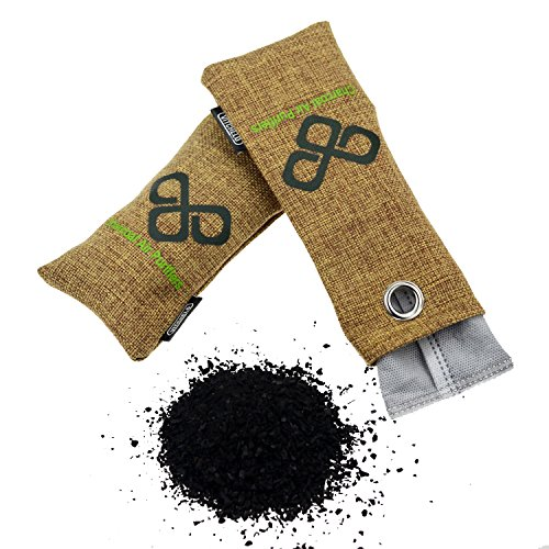 All Natural Bamboo Charcoal Bag Moisture Absorber Air