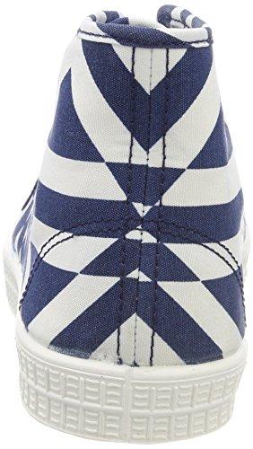star Raw Hautes milk Saru Femme Multicolore Blue G 9280 Mid Aop Rovulc dk Baskets d5pcqRU