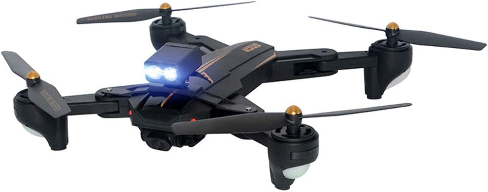 XXYsm Upgrade RC VISUO XS812 LED Lamp Night Light Headlamp XS812 Drone Accessories Helicopter Aircraft Infrared Sensing Induction Flying Drone Toy with Colorful for Kids and Adults