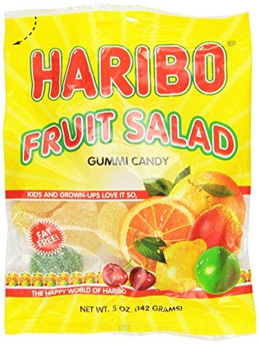 Gummi Fruit Salad - Haribo Gummies - Fruit Salad - 5 oz
