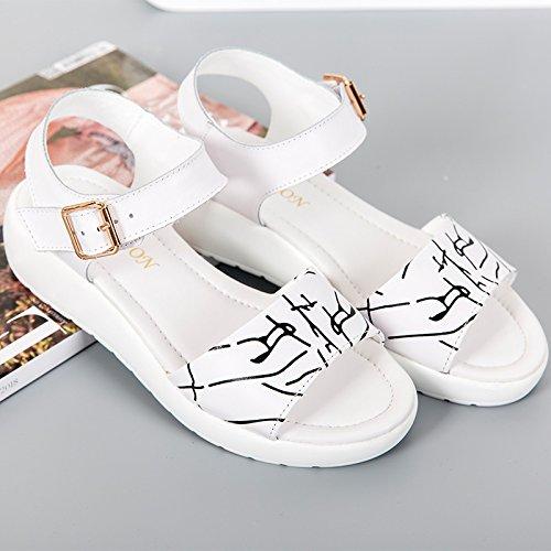 pelle MsWomen in scarpe ZHANGJIA di 39 Pd1xnw1CO
