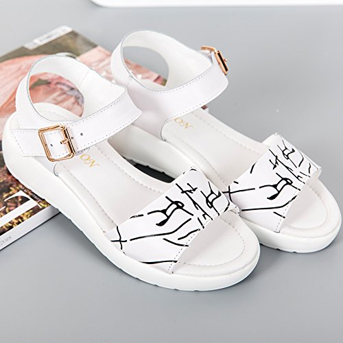ZHANGJIA scarpe di in MsWomen pelle 38 xaSgqYwAa