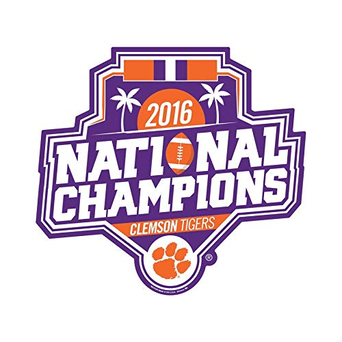 Wincraft Clemson Tigers College Football Playoff 2016 National Champions 11