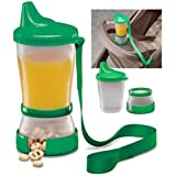 Baby : Mommys Helper Sip-N-Snak Non-Spill Cup and Snack Container, Colors May Vary