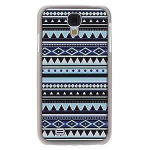 HC- Rayas Caso duro del patrón para Samsung i9500 Galaxy S4