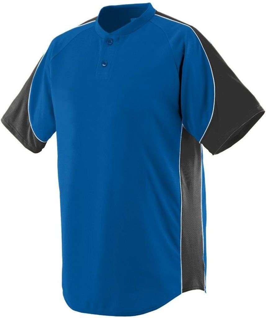Augusta Sportswear Boys ' Blast Baseball Jersey B00E1YTNCMロイヤル/ブラック/ホワイト Medium