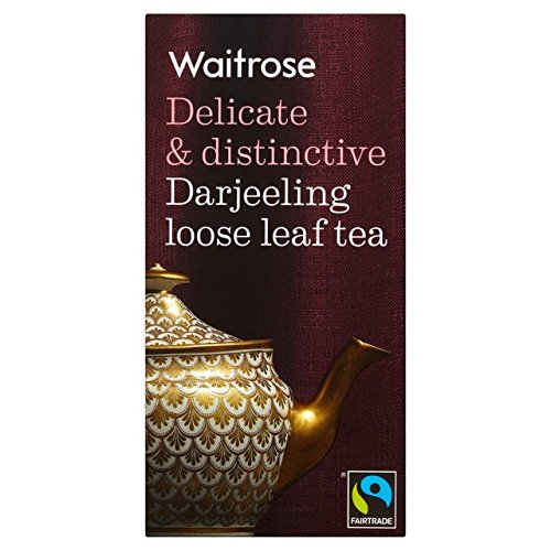 Darjeeling Loose Leaf Tea Waitrose 125g