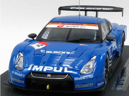 Nissan R35 GTR Super GT No. 12 (Imput Calsonic) 2009