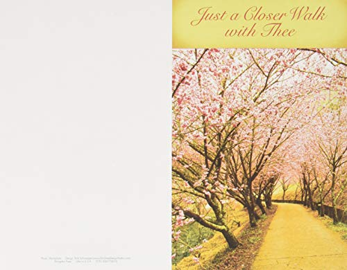 Just a Closer Walk with Thee Hymn & Song Bulletin (Pkg of 50) from Abingdon Press