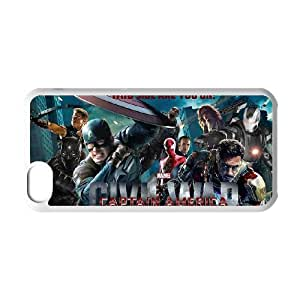 IPhone 5C Cell phone case for Classic movies Captain America Theme pattern design GCMCAT0999133