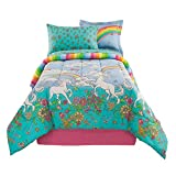 Kidz Mix Unicorn 6 Piece Bed in a Bag Twin Multicolor