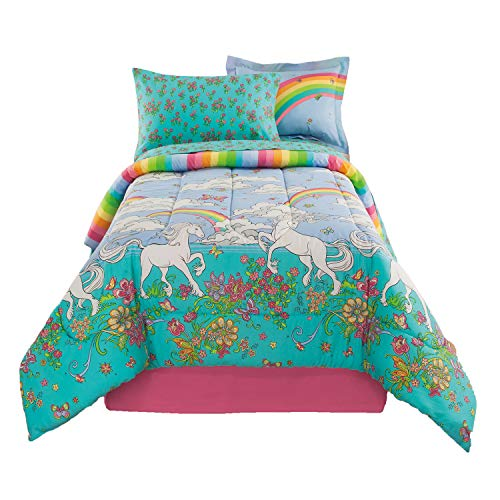 Kidz Mix Unicorn 6 Piece Bed in a Bag, Twin, ()