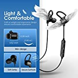 Wireless Bluetooth Headphones, Mpow Wireless Bluetooth 4.1 Sports Headphones Earbuds Earphones Headset for iPhone 7 Plus 6 6s SE and Other Smart Phones (3 Pairs Earbuds and Bag included)