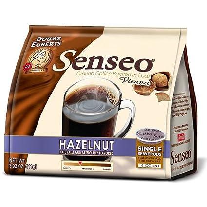 Senseo Café avellana Pods, 16 ct: Amazon.com: Grocery ...