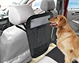 Auto Pet Barrier with 3 Pockets/organizer - Black by TrendyHomeGoods
