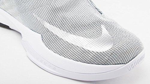 Kobe Zoom Icon bl Mtllc Slvr Mtllc Slvr Nike Sneaker Plateado white Cq6WxwnE5F