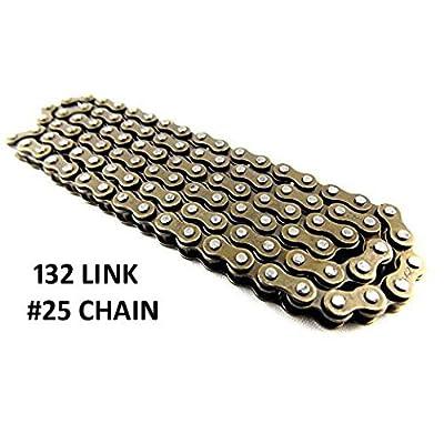 Razor MX500 and MX650 Dirt Rocket Chain - PREMIUM 132 Link Chain | #25 Chain 132L | Razor MX500 Electric Drive Chain | MX650 Dirt Bike | Razor SX500 | MiniMoto XRF500: Automotive