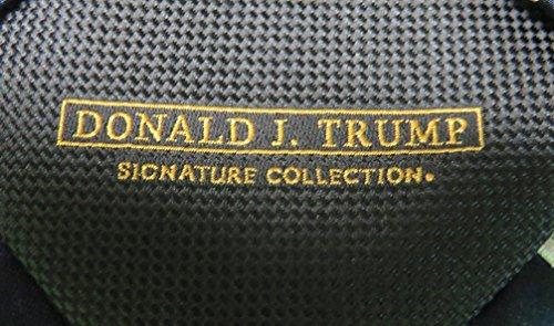 Donald Trump Neck Tie Black and Silver Striped by Donald Trump (Image #1)