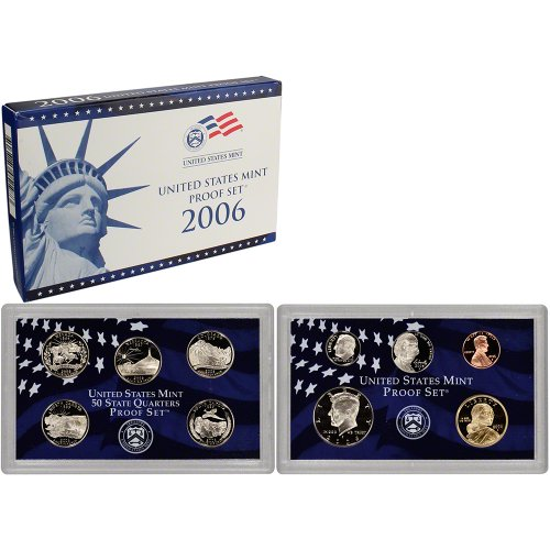 2006 S US Mint Proof Set Original Government Packaging