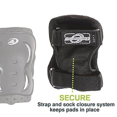 Rollerblade Bladegear XT Knee Pad Protective Gear, Unisex, Multi Sport Protection, Black : Skate And Skateboarding Knee Pads : Sports & Outdoors
