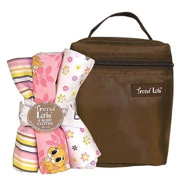 Amazon.com: Lola Fox Bouquet Bath and Burp Cloth Set: Baby