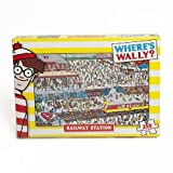 Paul Lamond Where's Wally Puzzle Railway Station (250 Pieces) by ToyCentre
