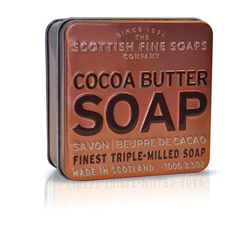 Scottish Fine Soaps Cocoa Butter Soap In Tin 100 g