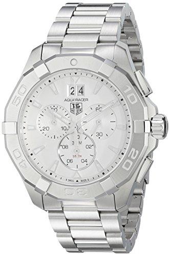 Gemstone Bezel Leather Strap Watch - 9