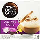 Nescafe Dolce Gusto for Nescafe Dolce Gusto Brewers, Chai Tea Latte, 16 Count (Pack of 3) by Nescafe [Foods]