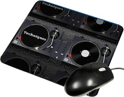 Tocadiscos DJ - Ratón cuadrado: Amazon.es: Oficina y papelería