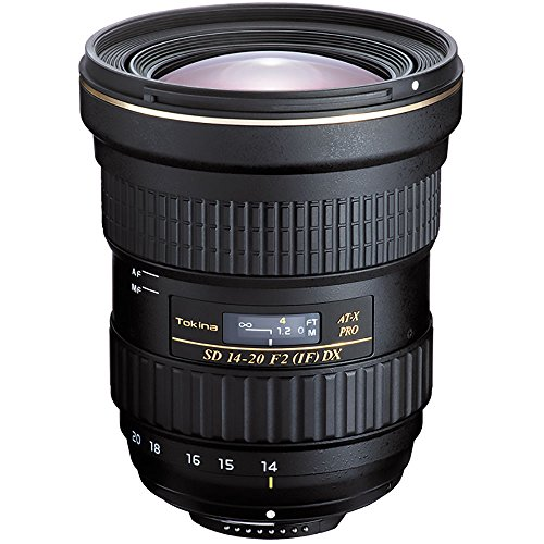 Tokina AT-X 14-20mm f/2 PRO DX Lens for Canon EF