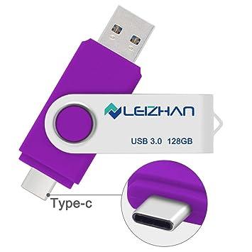 Amazon.com: Leizhan - Memoria USB tipo C para HTC 10, Huawei ...