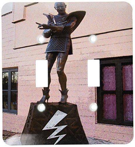 3dRose LSP 49574_ 2Embassy teatro Estatua Casa de Rocky Horror Picture Show en Hamilton, nueva Zelanda–doble...