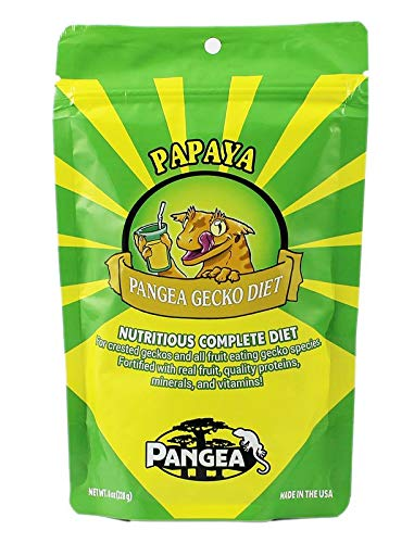 Pangea Banana/Papaya Fruit Mix Complete Crested Gecko Food 1 lb