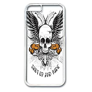 iphone 6 case, Screwed Skull Design With PC Transparent Phone Case Protect Iphone 6