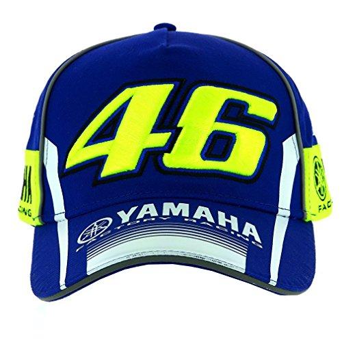 VALENTINO ROSSI VR46 Moto GP M1 Yamaha Factory Racing Team Cap Officiel 2019