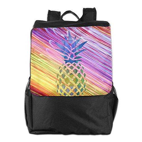 LUMAN Color Of Pineapple Unisex Outdoor Backpack Outdoor Shoulder Bags