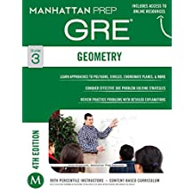 GRE Geometry (Manhattan Prep GRE Strategy Guides)