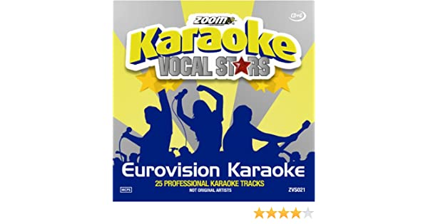 Zoom Karaoke CD+G - Eurovision Song Contest - Vocal Stars Karaoke Series 21 : Zoom Karaoke: Amazon.es: Música