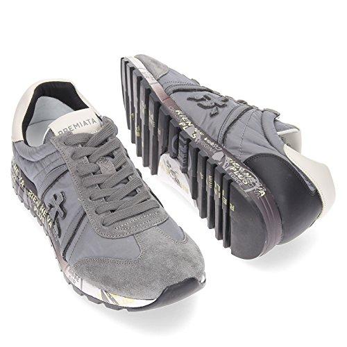 Lucy Uomo Grigio MOD PREMIATA VAR 2456 Sneakers tfnqwATF