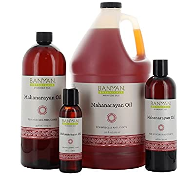 Banyan Botanicals Mahanarayan Oil - 99% Organic - For Muscles & Joints with Pain, Stiffness, or Inflammation*