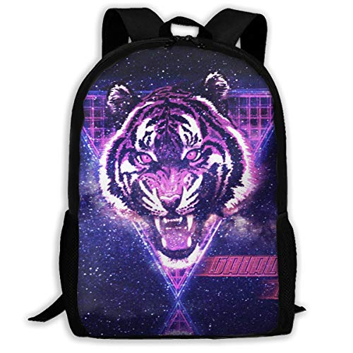 Simple Laptop Backpack 3D Printed Lion School Book Bag Durable Daypack Classic Storage Bag Lightweight Daypack For Travel Outdoor -