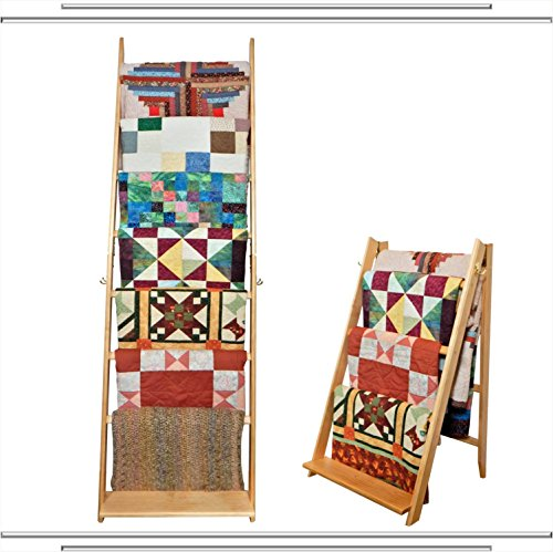 - The LadderRack It's 2 Quilt Racks in 1! (7 Rung/24