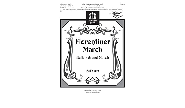 Magnificent Florentiner March Full Score And Parts Handbell Sheet Music Wiring 101 Mecadwellnesstrialsorg